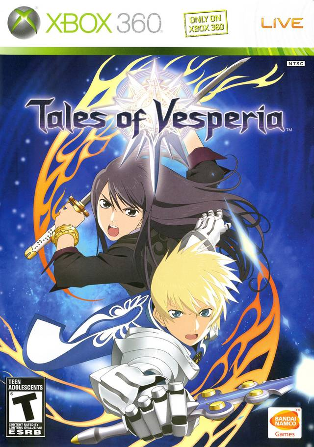 Games you slept on tales of vesperia real otaku gamer - Xbox anime gamer pictures ...