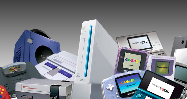 Image result for nintendo consoles collection