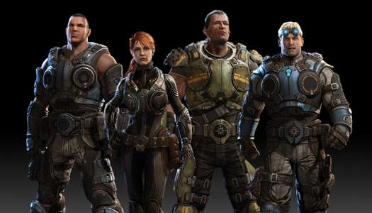 The four COG class characters.