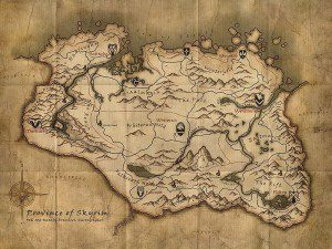 map-Skyrim