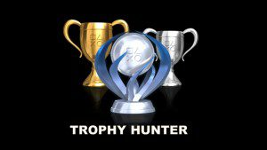 When you have Gamer OCD, getting all of the trophies is mandatory.