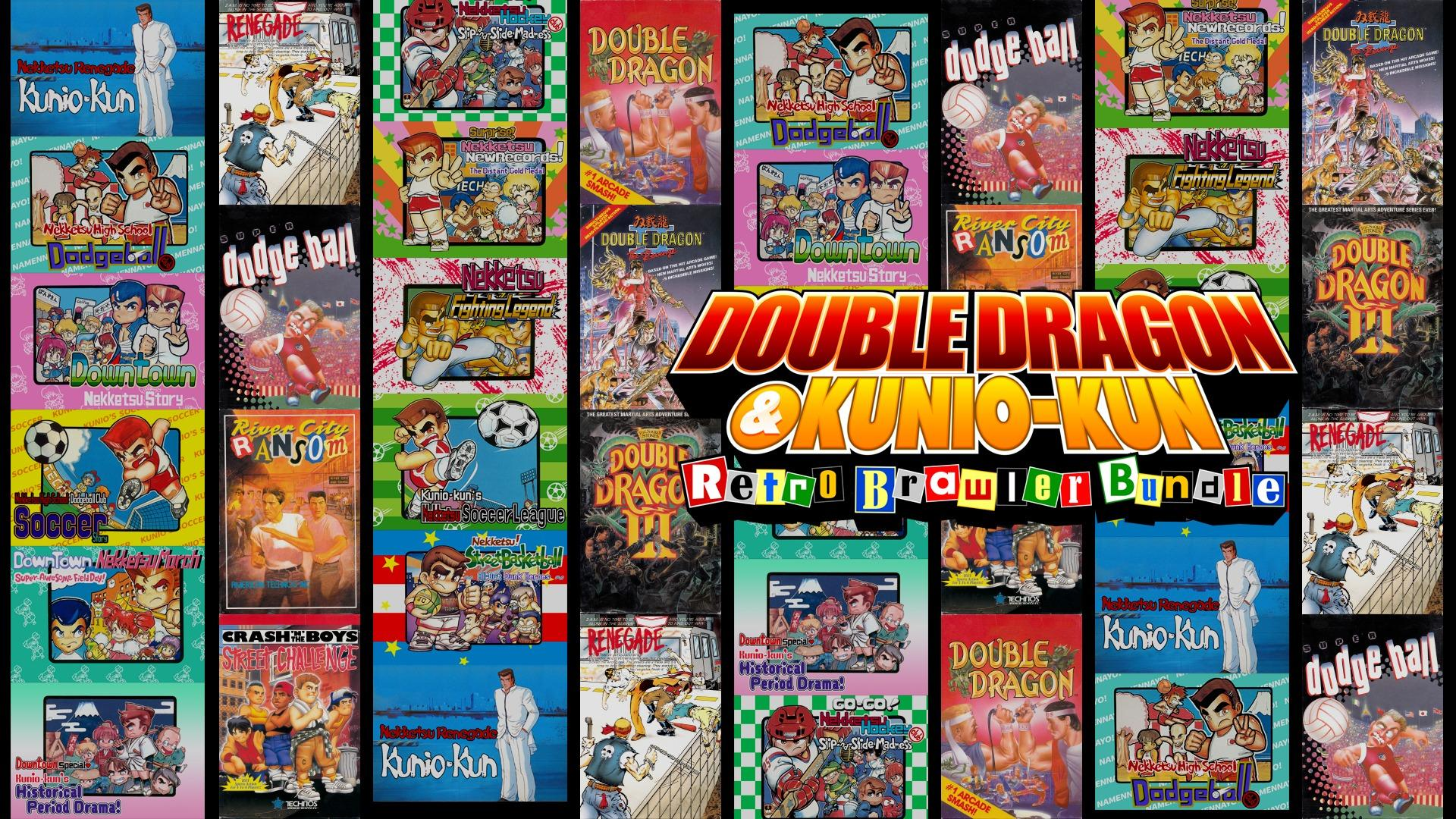 Double Dragon Kunio Kun Retro Brawler Bundle Brings 18 Classic Games To The West Later This Month Real Otaku Gamer Real Otaku Gamer Is Your Source For Geek Culture Goodness